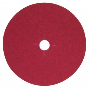 Norton Red Heat Edger Disc Paper 7""