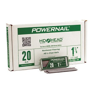 POWERNAIL L CLEATS 20 GA. 5000 CT.