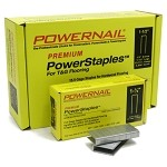 Powernail Staples 15.5 GA. 1/2in Crown